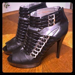 Calvin Klein Peep Toe Platform Sandal